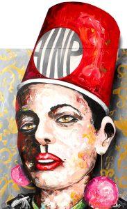 AINP Hat // 150 x 120 / acrylic on canvas