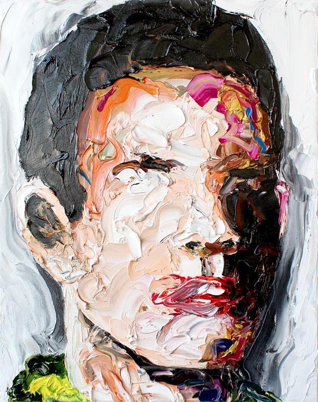 Ben I // 50 x 40 / oil on canvas / Peintre X