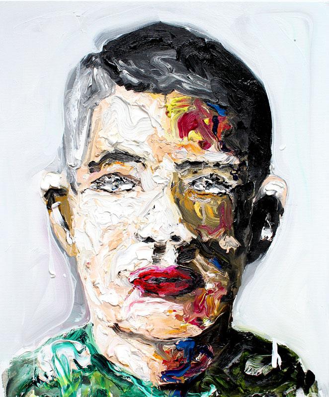 Ben II // 60 x 50 / oil on canvas