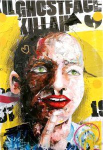 """C.R.E.A.M."" // 100 x 70 // acrylic on paper on wood / highgloss // Peintre X"