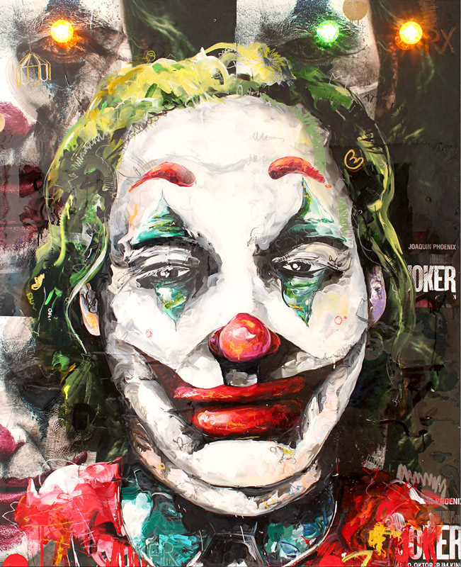 Joker // 160x130 // acrylic on canvas / highgloss