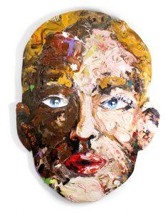 head 20 // 114x85 // acrylic on wood