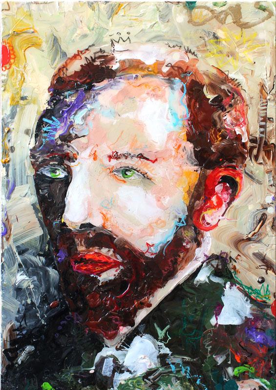 1 Vincent van Gogh X // 100 x 80