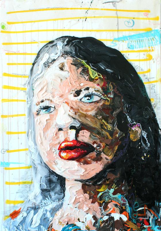 Girl // 100 x 80