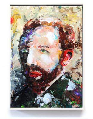 """""""Vincent van Gogh X"""" // 100 x 80 // acrylic on canvas"""